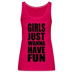 Basic shirt girls @ Fun - Vrouwen Premium tank top