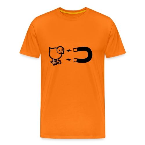 Grappig T-shirt Chickmagnet - Mannen Premium T-shirt