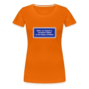 Zugluft_Woman - Frauen Premium T-Shirt