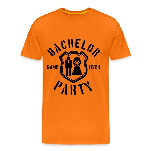 Bacher? Game Over! - Männer Premium T-Shirt