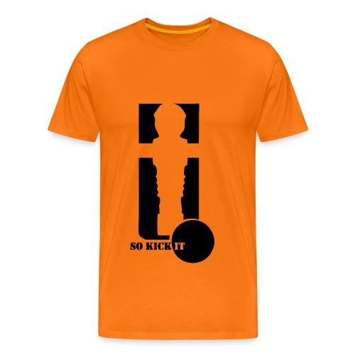 So kick it  - Männer Premium T-Shirt