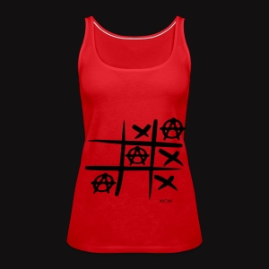 Tic Tac Toc Red&blck - Débardeur Premium Femme