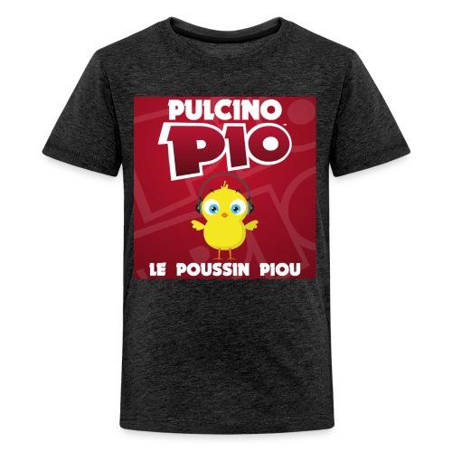 Pochette Piou Tshirt Rouge - T-shirt Premium Ado