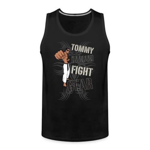 Tommy Damani Fight Gear - Men's Premium Tank Top