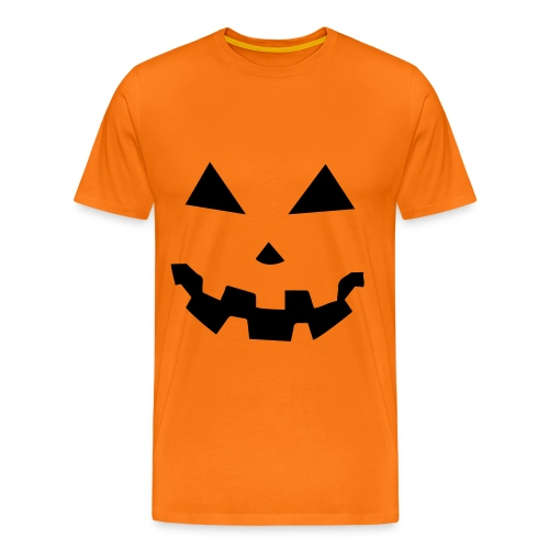 Camiseta Hombre calabaza - Camiseta premium hombre