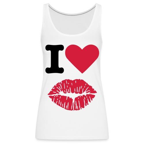i love kus_wit - Vrouwen Premium tank top