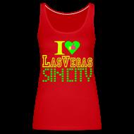 Tops ~ Women's Premium Tank Top ~ I like Las Vegas sin city