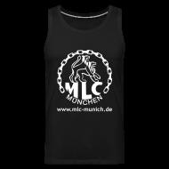Sportbekleidung ~ Männer Premium Tank Top ~ MLC Muskelshirt