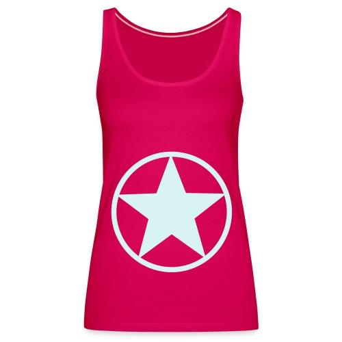 Pentagram Collage - Frauen Premium Tank Top