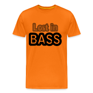 T-Shirts ~ Men's Premium T-Shirt ~ Lost in Bass music