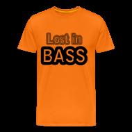 T-Shirts ~ Men's Premium T-Shirt ~ Lost in Bass music