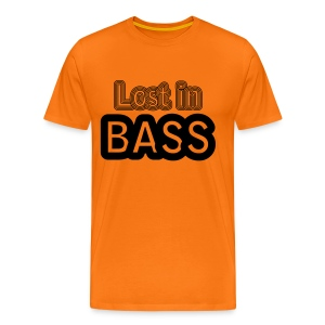 Lost in Bass music - Men's Premium T-Shirt