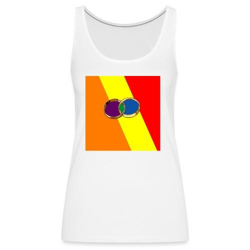 Tee-Shirt femme avec couleur gay et anneaux - Débardeur Premium Femme