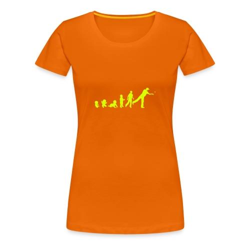 Evolution Beer Pong Femme  - T-shirt Premium Femme