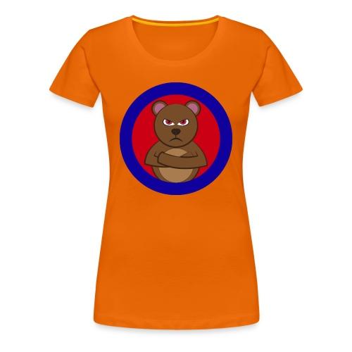 Angry bear T Shirt - Women's Premium T-Shirt