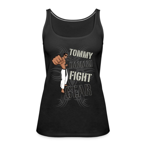 Tommy Damani Fight Gear - Women's Premium Tank Top