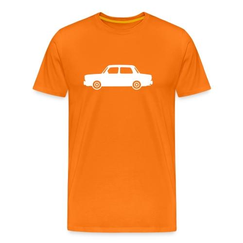 Simca 1000, blanche de profil - T-shirt Premium Homme