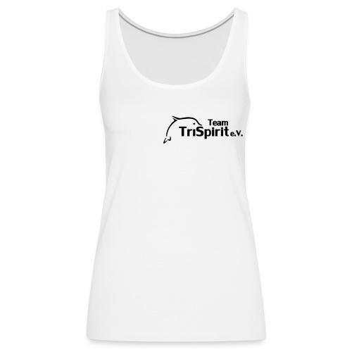 Cordula Tank  schwarzes Logo - Frauen Premium Tank Top