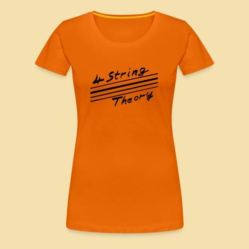 ShirtTheory - Frauen Premium T-Shirt