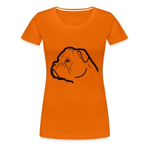 Continental Bulldog T-Shirt - Frauen Premium T-Shirt