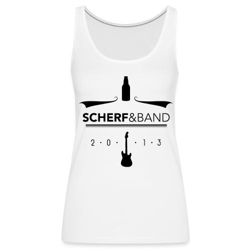 SCHERF & BAND - GIRLYTOP - Frauen Premium Tank Top