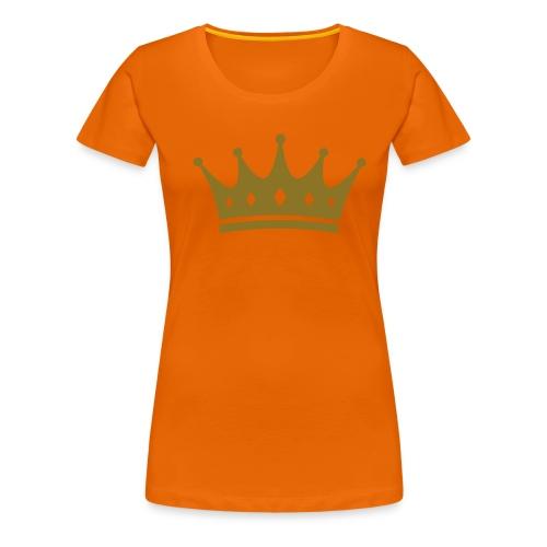 Oranje Kroon - Vrouwen Premium T-shirt