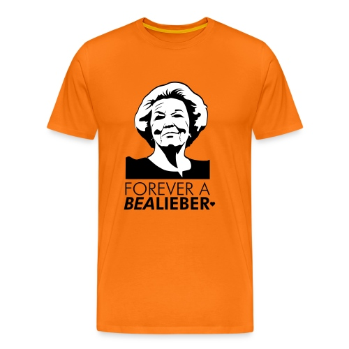 Bealieber man - Mannen Premium T-shirt
