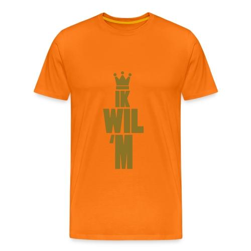 Ik Wil 'M! - Mannen Premium T-shirt