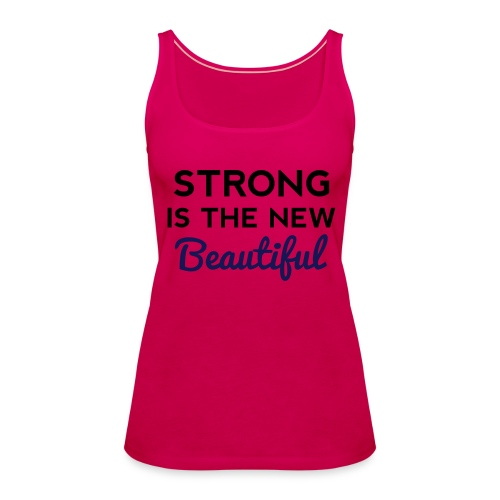 The Strong - Women's Premium Tank Top