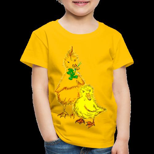 Kinder T Shirt Küken - Kinder Premium T-Shirt