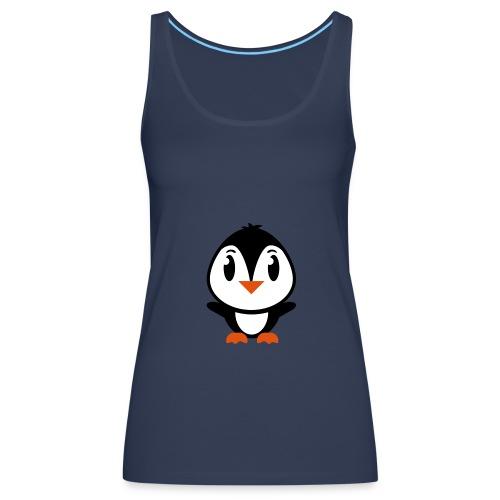 débardeur bretelles fines pingouin - Débardeur Premium Femme