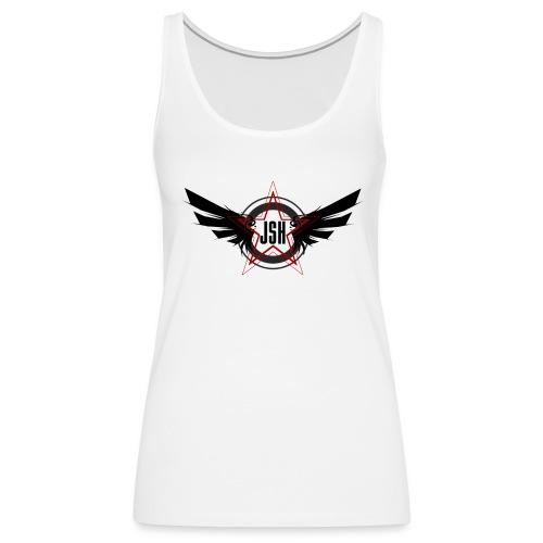 JSH Logo #10-b - Women's Premium Tank Top