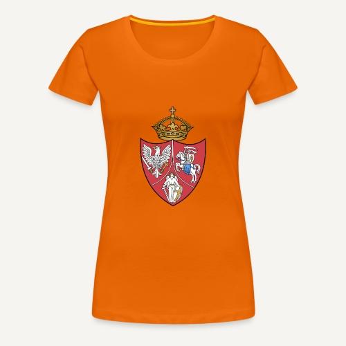 Herb powstańczy z czasów Powstania Styczniowego - Koszulka damska Premium