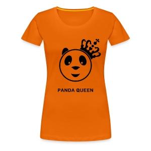 Panda Queen II Vrouw - Vrouwen Premium T-shirt