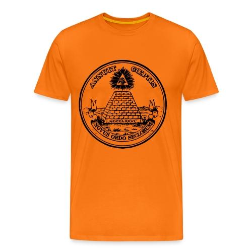 Kesän palvontapaita - Miesten premium t-paita