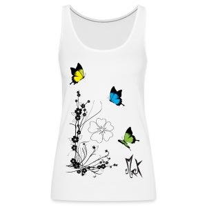 Butterflies McKoy - Camiseta de tirantes premium mujer