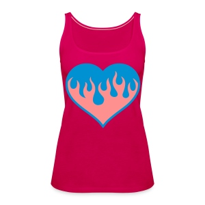 Fireheart Girl - Women's Premium Tank Top