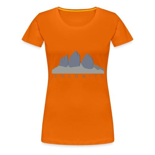 Dolomiti - Maglietta Premium da donna