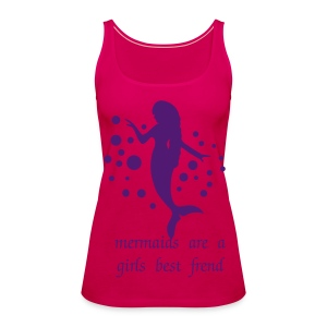Double Mermaid - Women's Premium Tank Top