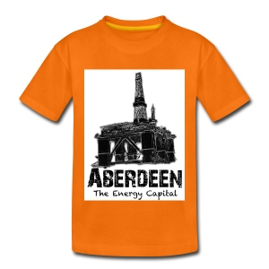 Aberdeen - the Energy City teenage T-shirt - Teenage Premium T-Shirt