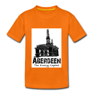 Shirts ~ Kids' Premium T-Shirt ~ Aberdeen - the Energy Capital kid's T-shirt