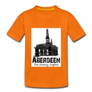 Aberdeen - the Energy Capital kid's T-shirt - Kids' Premium T-Shirt