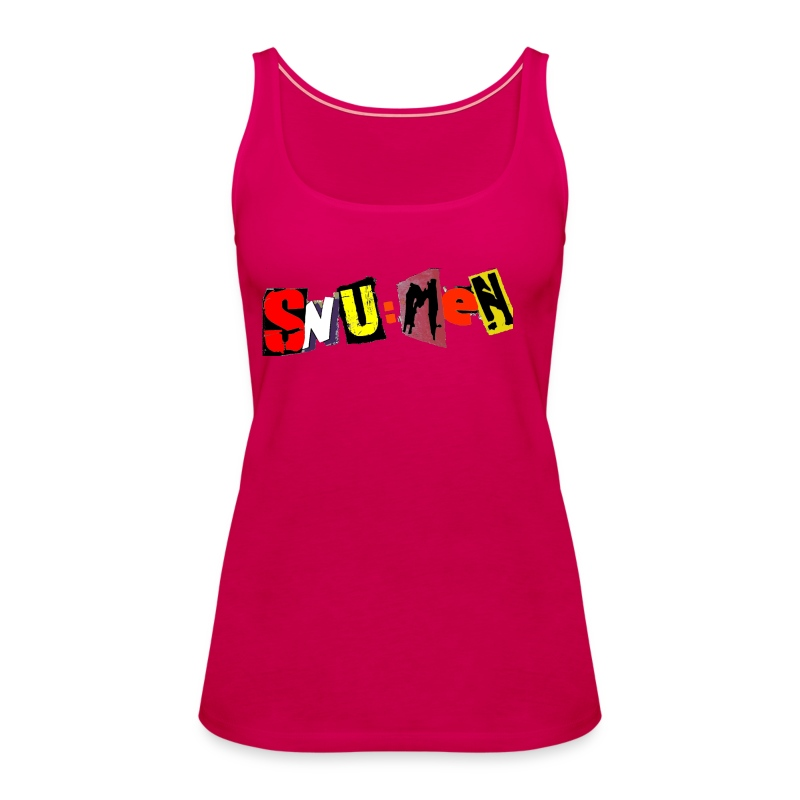 SNU:MeN Tank Top Girlie - Frauen Premium Tank Top