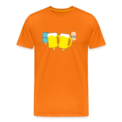 Funny Popsicles T-Shirt #1 - Men's Premium T-Shirt