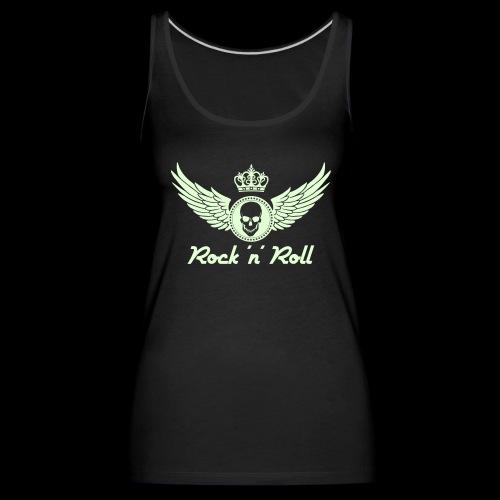 Rock 'n' Roll - leuchtend - vorne - Frauen Premium Tank Top