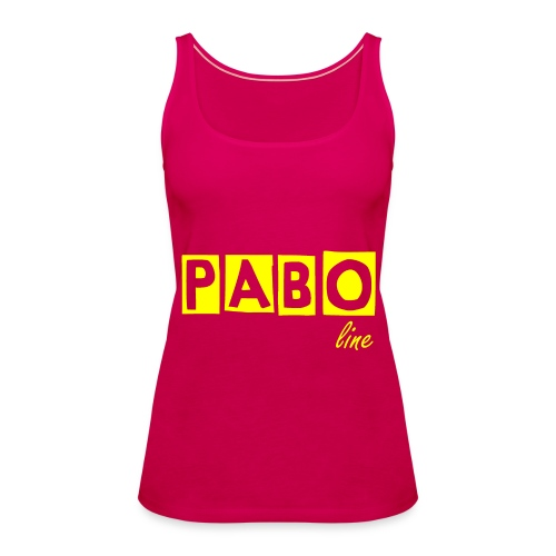 Frauen Spaghetti Top PABO line - Frauen Premium Tank Top