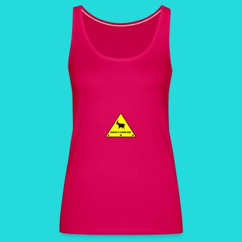 Tee shirt L'herbe des chévres  - Débardeur Premium Femme