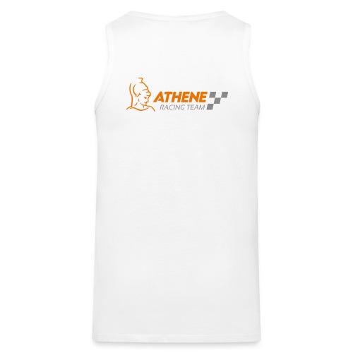 Herren Shirt Logo hinten - Männer Premium Tank Top