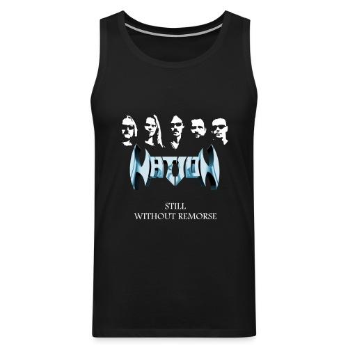 T-shirt, men, no sleeves, in black only - Premiumtanktopp herr