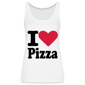 Vrouwenhemd I love Pizza - Vrouwen Premium tank top
